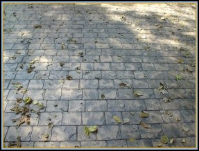 Stamped London Cobble Driveway Closeup
