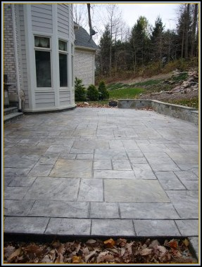 Old English Stone Patio 2