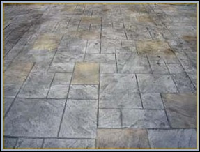 Stamped Concrete Flagstone Pavers In Virginia Va