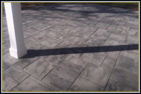 Paver Patio Gray