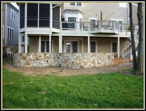 Thinstone Seating and Retaining Wall