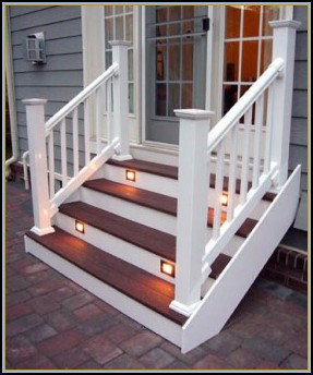 Composite Deck Steps
